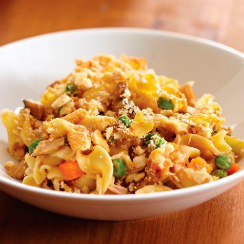 Cheesy Tuna Noodle Casserole  Cheesy Tuna Noodle Casserole Recipes