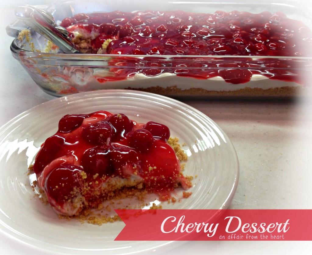 Cherry Pie Filling Desserts  Cherry Dessert