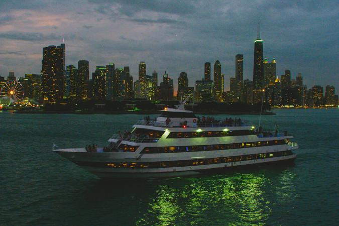 Chicago Dinner Cruise  Dinner Cruises on Lake Michigan from Navy Pier