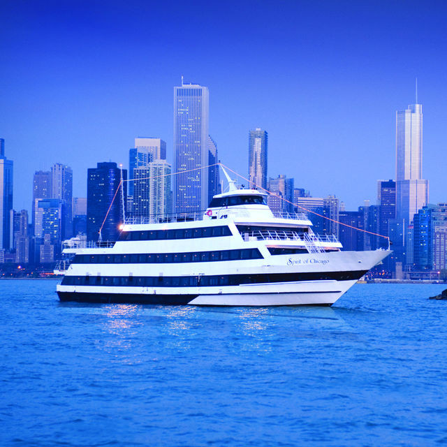 Chicago Dinner Cruise  Chicago 3 Hour 3 Course Buffet Dinner Cruise