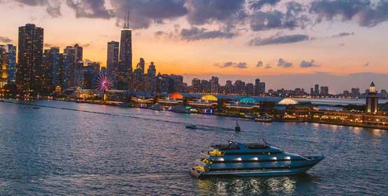 Chicago Dinner Cruise  Prix Fixe Dinner Cruises