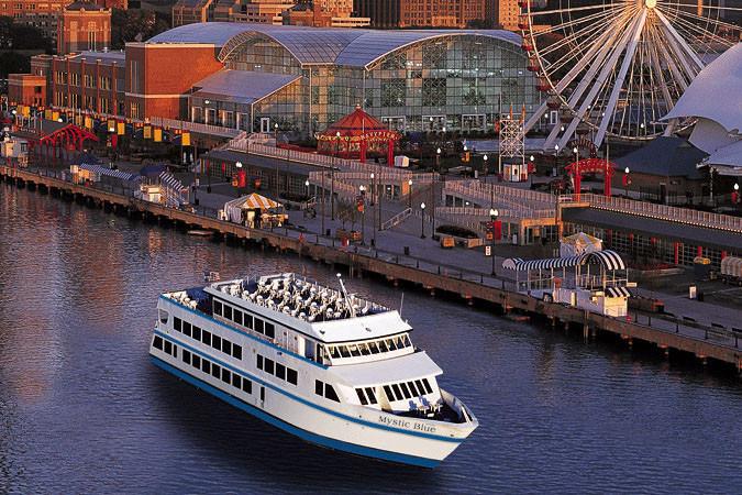 Chicago Dinner Cruise  Chicago Navy Pier Dinner Cruises