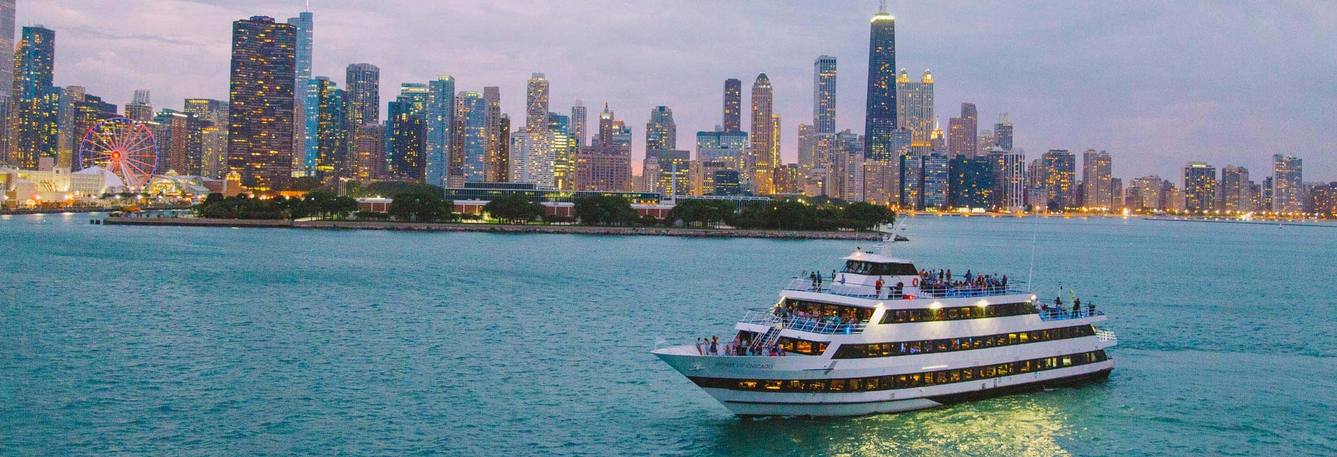Chicago Dinner Cruise  Chicago Lunch & Dinner Cruises & Skyline Views