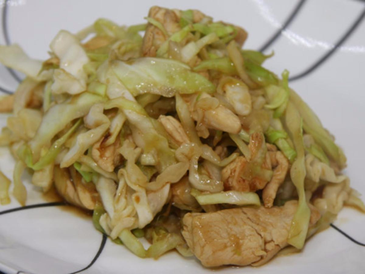Chicken And Cabbage  Chicken and Cabbage Stir Fry Recipe and Nutrition Eat