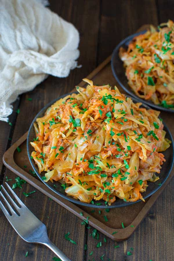 Chicken And Cabbage  Cabbage Sauteed with Chicken COOKTORIA