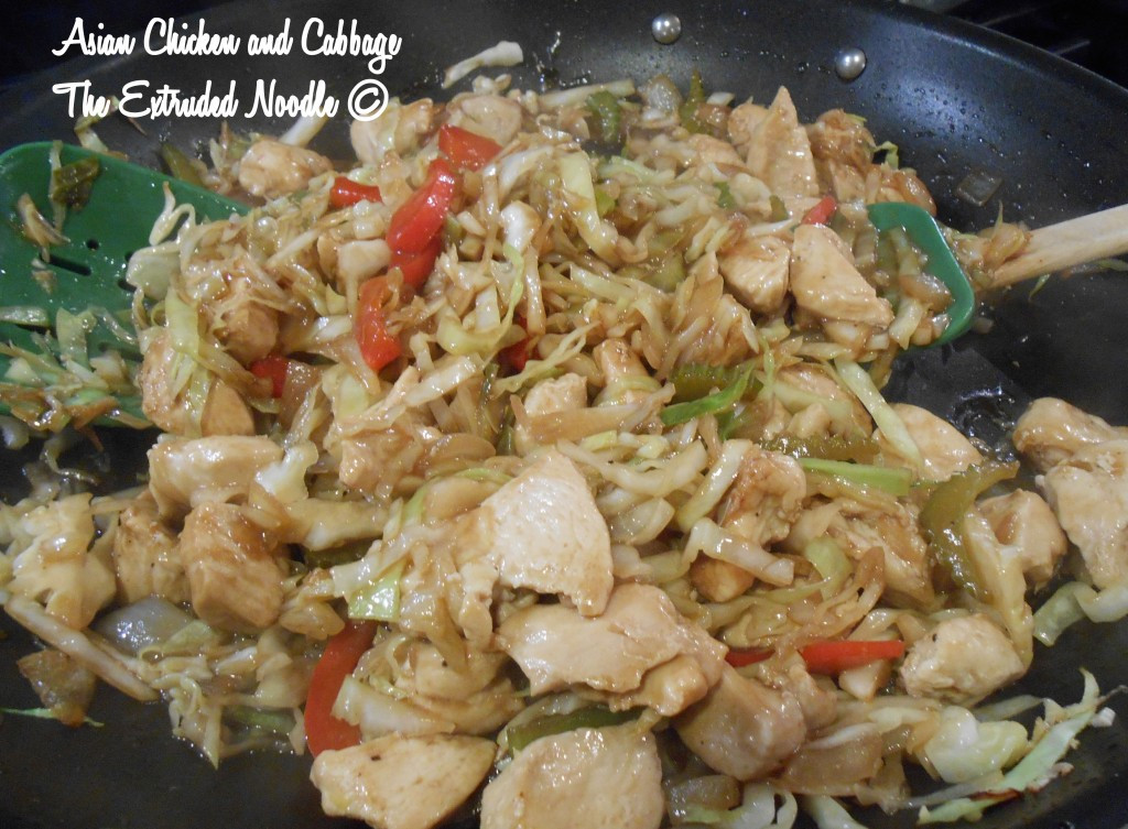 Chicken And Cabbage  Asian Chicken and Cabbage