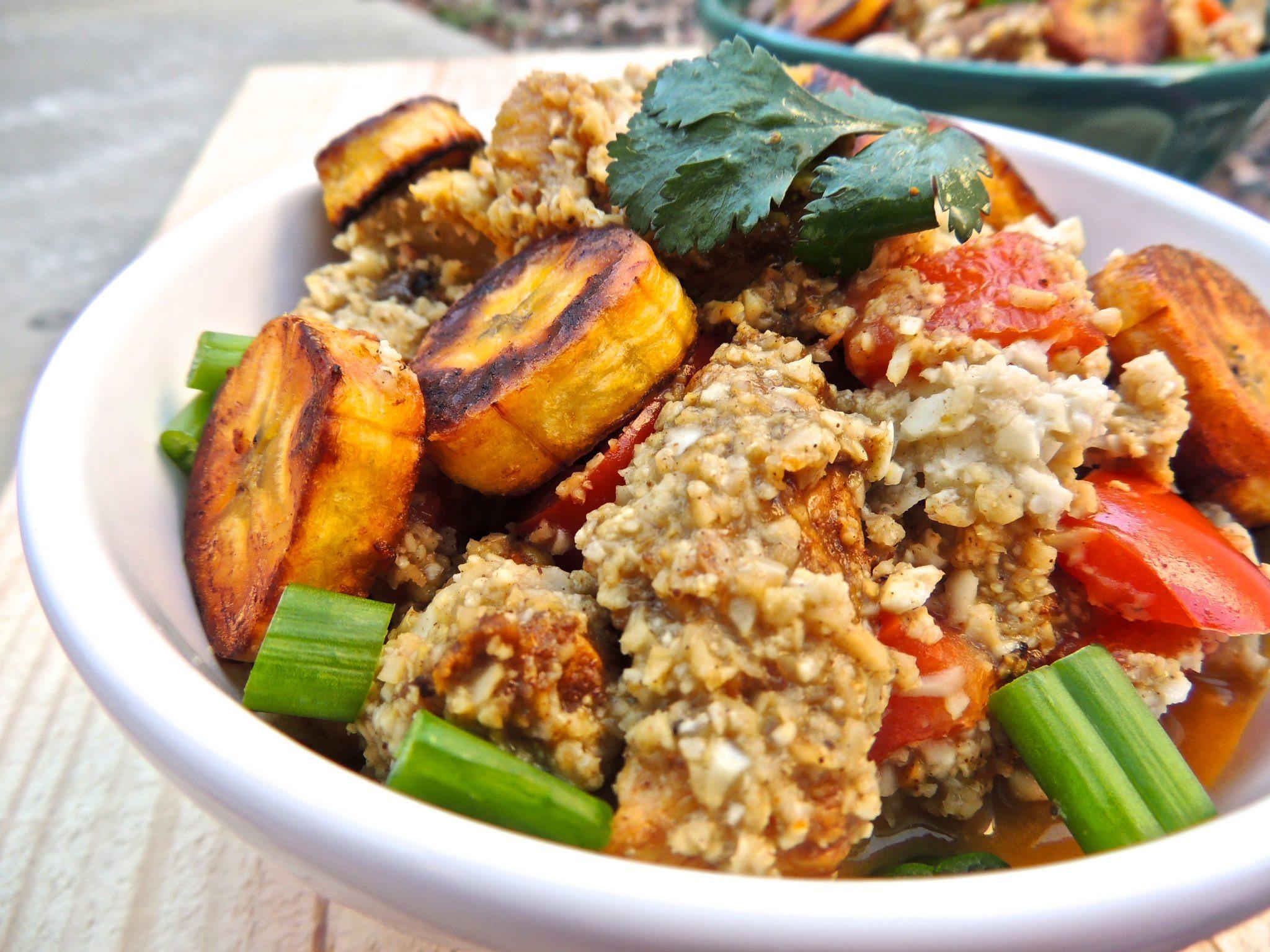 Chicken And Cauliflower Rice  Jerk Chicken and Cauliflower Rice Bowls
