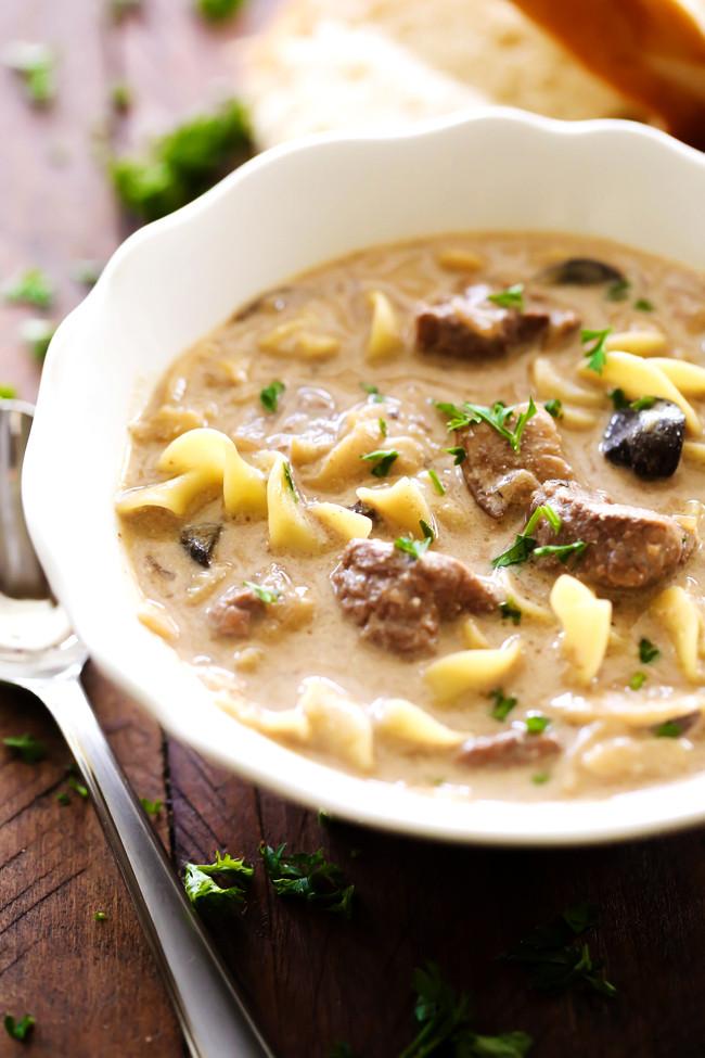 Chicken And Cream Of Mushroom Soup  chicken stroganoff cream of mushroom soup