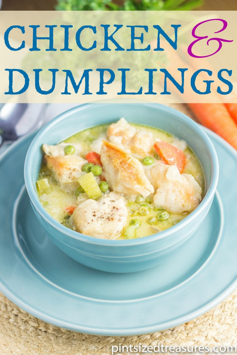 Chicken And Dumplings With Canned Biscuits  crockpot chicken and dumplings with canned biscuits