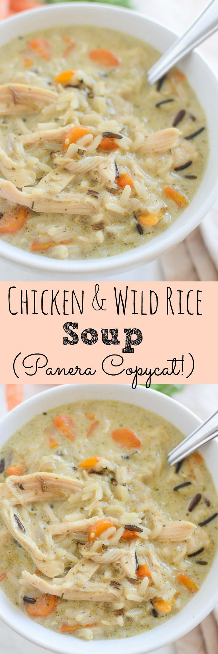 Chicken And Wild Rice Soup Recipe  39 best images about Favorite Recipes on Pinterest