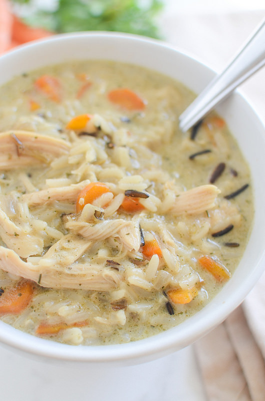 Chicken And Wild Rice Soup Recipe  Chicken and Wild Rice Soup Panera Copycat Fake Ginger