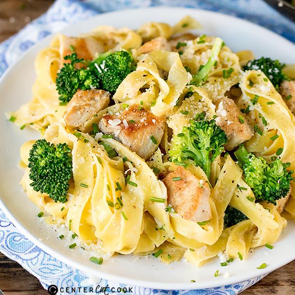Chicken Broccoli Alfredo  Chicken and Broccoli Alfredo Recipe