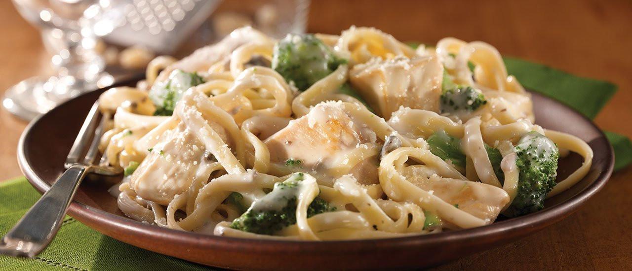 Chicken Broccoli Alfredo  Stove Top Chicken & Broccoli Alfredo Recipe