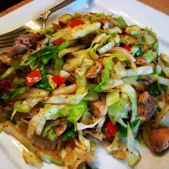 Chicken Cabbage Stir Fry  CHICKEN CABBAGE STIR FRY