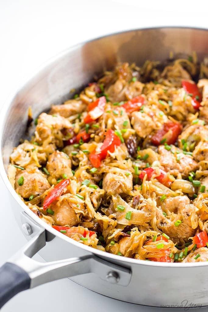 Chicken Cabbage Stir Fry  Chicken Cabbage Stir Fry Recipe VIDEO