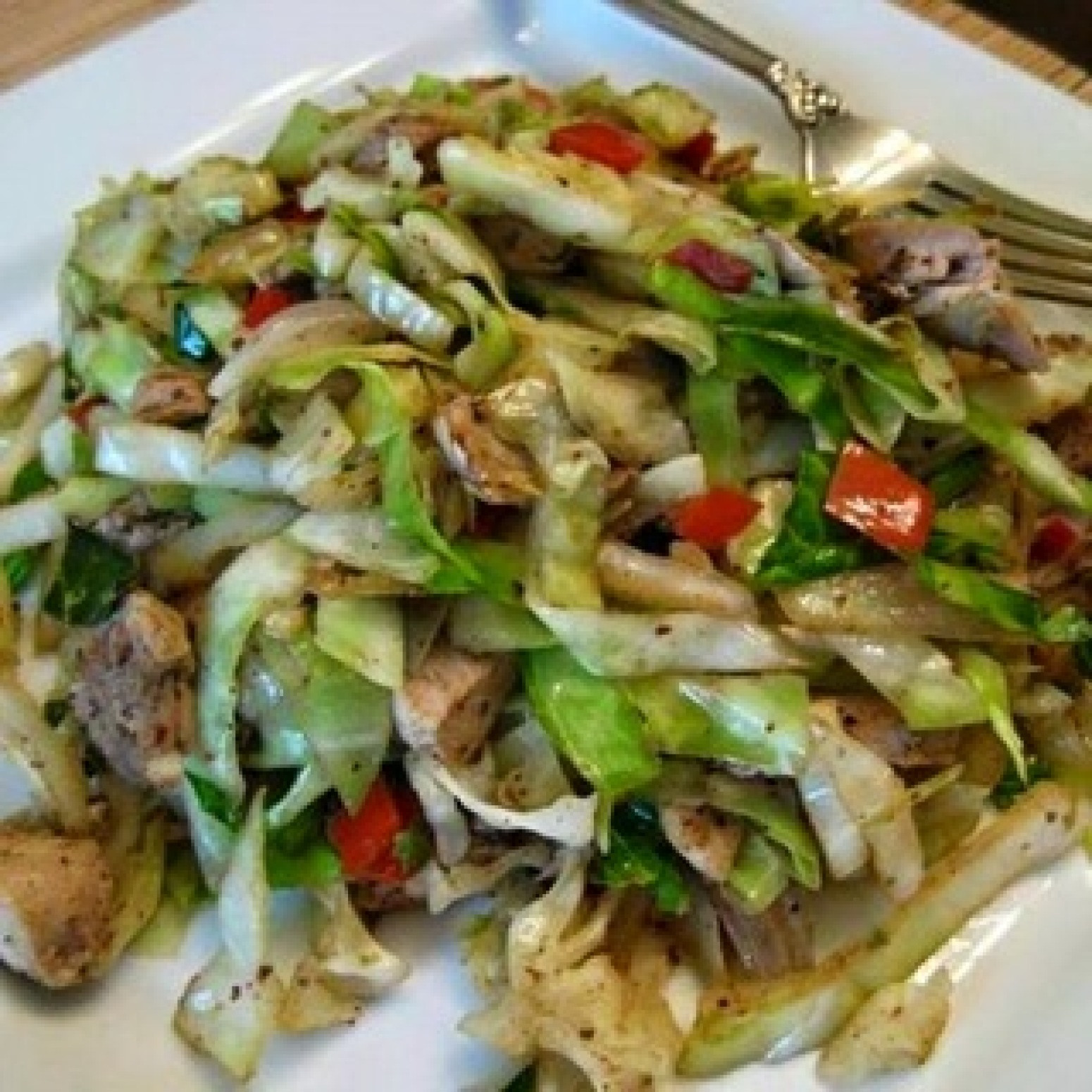 Chicken Cabbage Stir Fry  CHICKEN AND CABBAGE Recipe