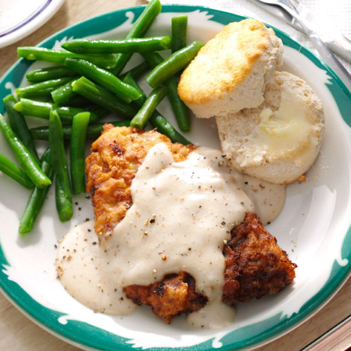 Chicken Fried Steak Recipes  Chicken Fried Steak & Gravy Recipe