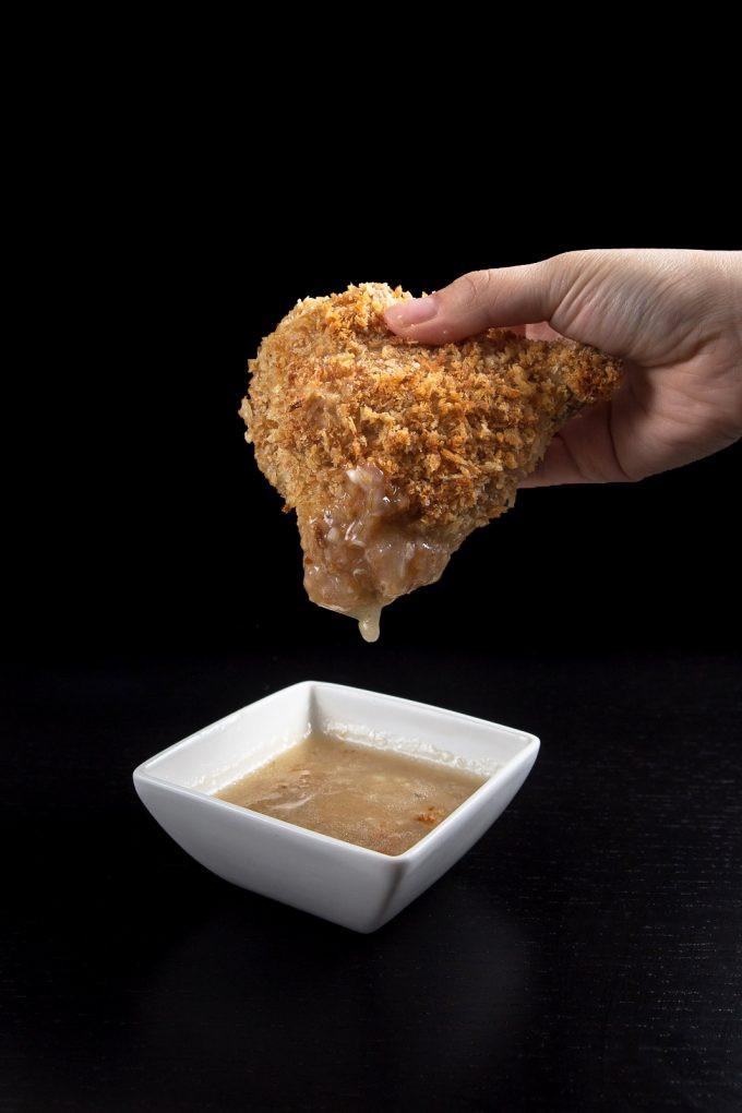 Chicken Gravy From Scratch  Crispy Pressure Cooker Chicken with Homemade Chicken Gravy