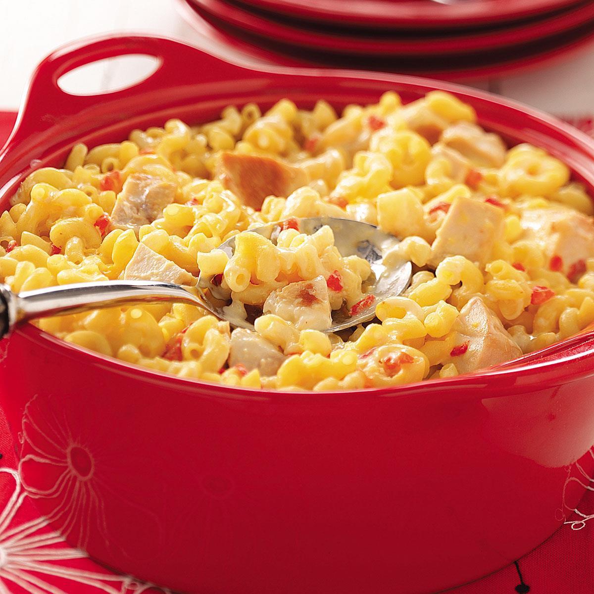 Chicken Macaroni Casserole  Chicken Macaroni Casserole Recipe