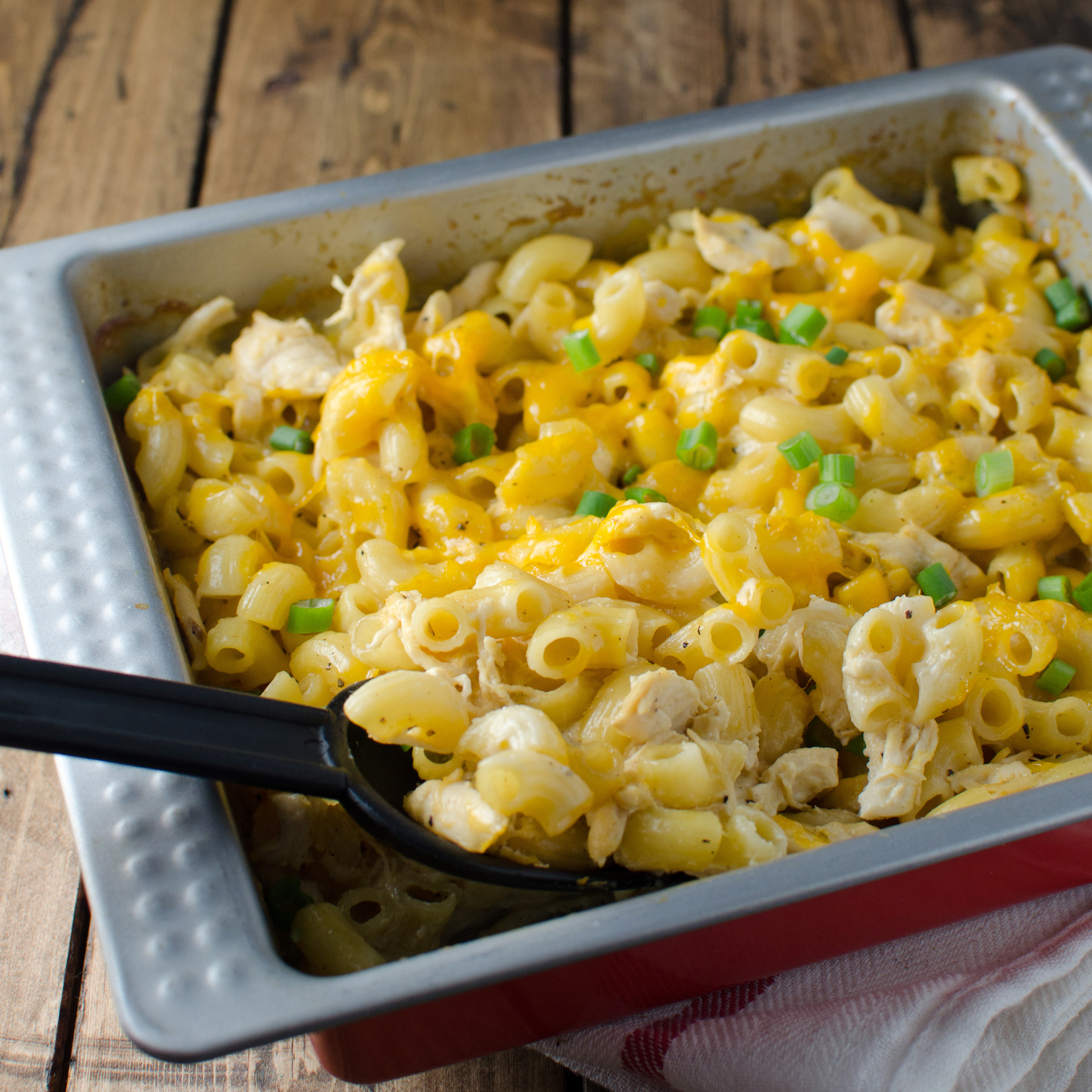 Chicken Macaroni Casserole  Cheesy Macaroni Chicken Casserole Recipe Kristen Stevens