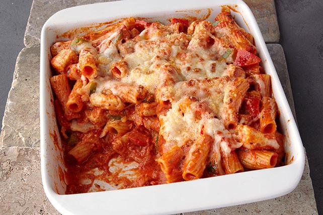 Chicken Macaroni Casserole  Chicken & Pepper Pasta Bake Kraft Recipes