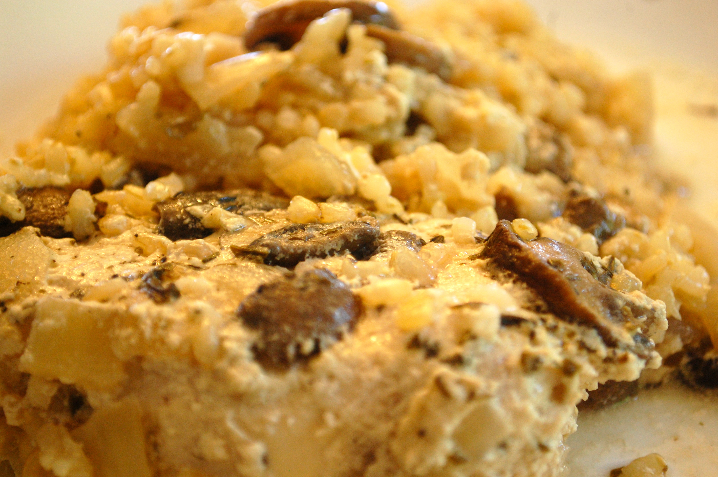 Chicken Mushroom Rice Casserole  Chicken Rice & Mushroom Casserole