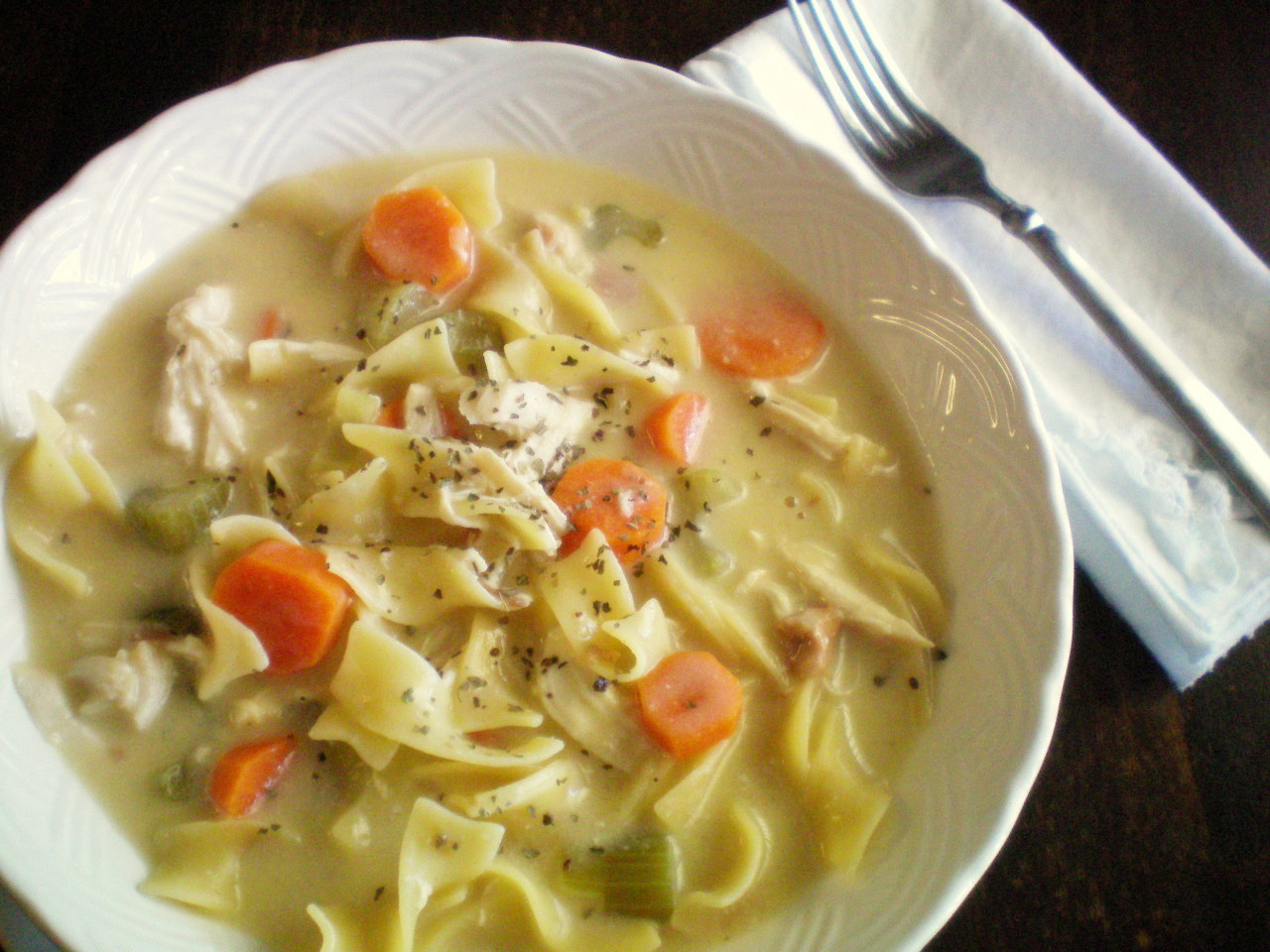 Chicken Noodle Soup Crockpot  Crock Pot Creamy Chicken Noodle Soup
