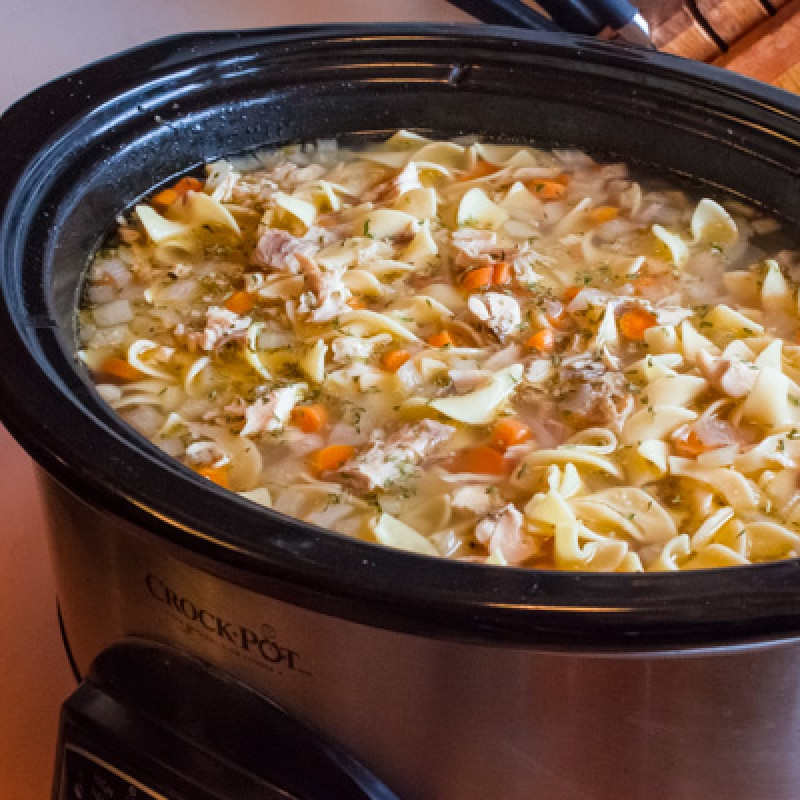 Chicken Noodle Soup Crockpot  Crock Pot Chicken Noodle Soup Recipe