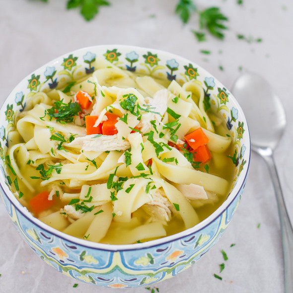 Chicken Noodle Soup Crockpot  20 Chicken Crockpot Recipes Theme Night Ideas