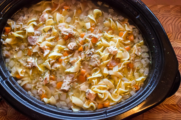 Chicken Noodle Soup Crockpot  Crock Pot Chicken Noodle Soup Recipe Slow Cooker
