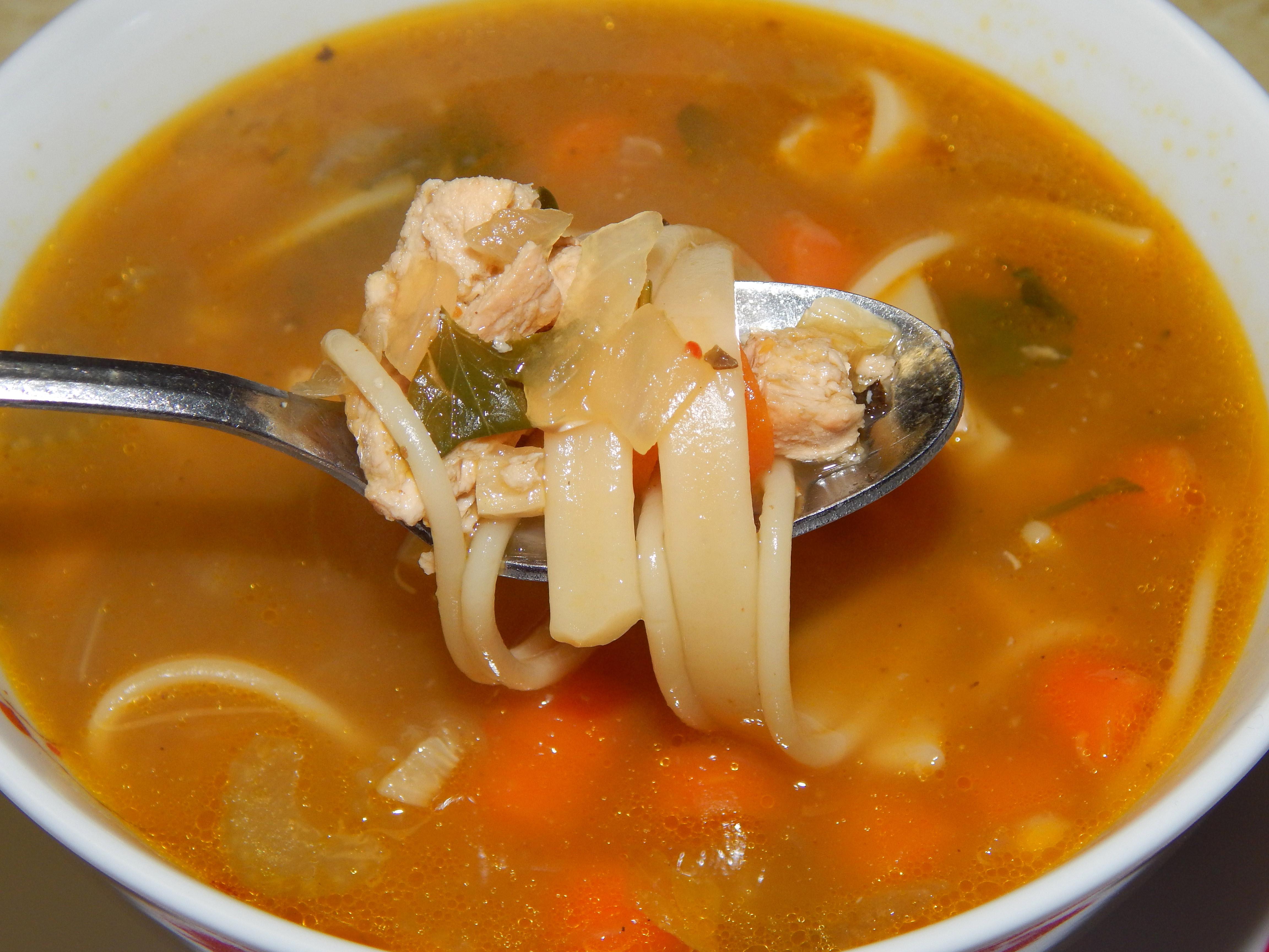 Chicken Noodle Soup For The Soul  Chicken Noodle Soup For The Vegan Soul – VegCharlotte