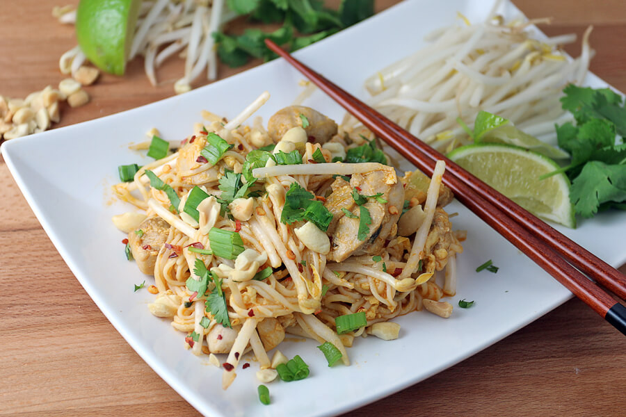 Chicken Pad Thai  Keto Chicken Pad Thai