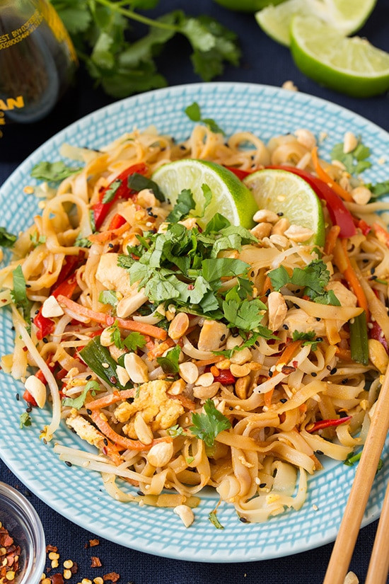 Chicken Pad Thai  Pad Thai Recipe with Chicken Cooking Classy