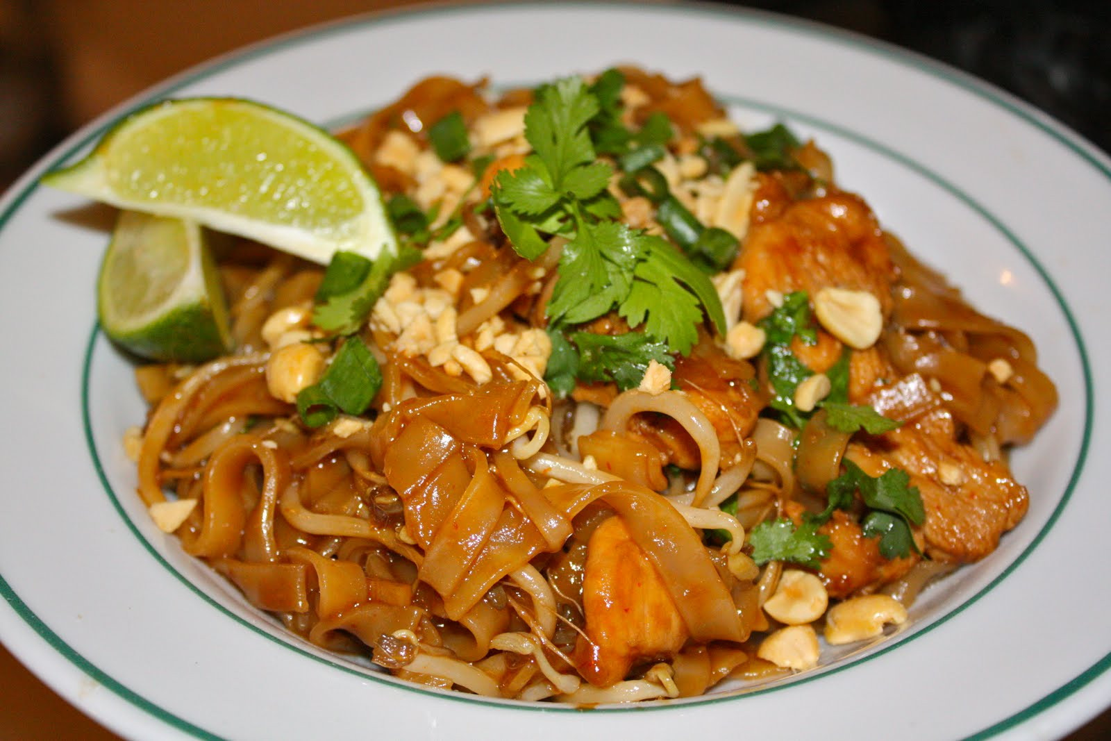 Chicken Pad Thai  Chicken Pad Thai