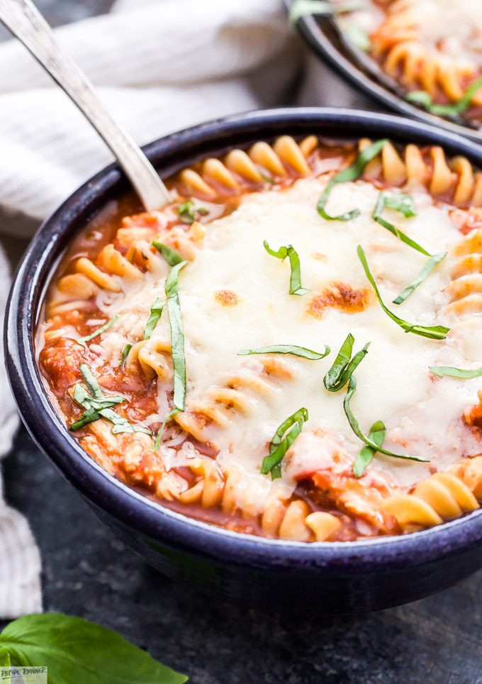 Chicken Parm Soup  Slow Cooker Chicken Parmesan Soup Recipe Runner