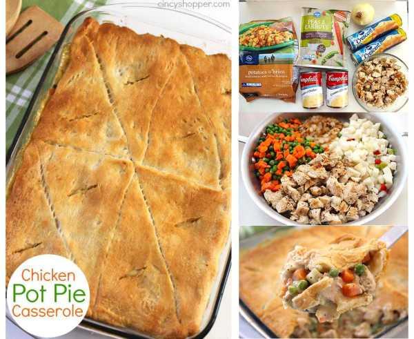 Chicken Pot Pie Casserole Recipe  chicken pot pie with crescent rolls recipe