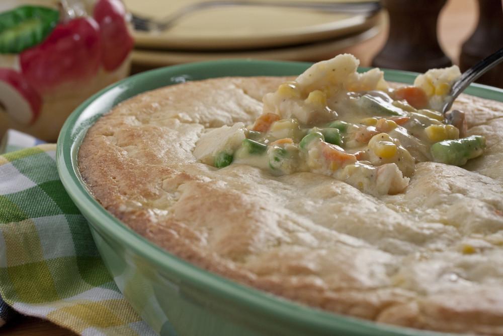Chicken Pot Pie Casserole Recipe  Chicken Pot Pie Casserole
