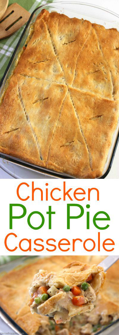 Chicken Pot Pie Casserole Recipe  Chicken Pot Pie Casserole CincyShopper
