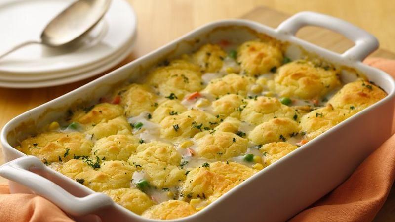 Chicken Pot Pie Casserole Recipe  Gluten Free Chicken and Ve able Pot Pie recipe from