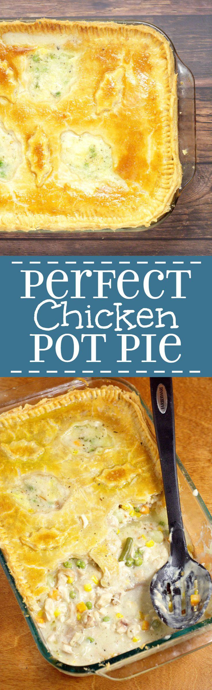 Chicken Pot Pie Casserole Recipe  Homemade Chicken Pot Pie Casserole Recipe