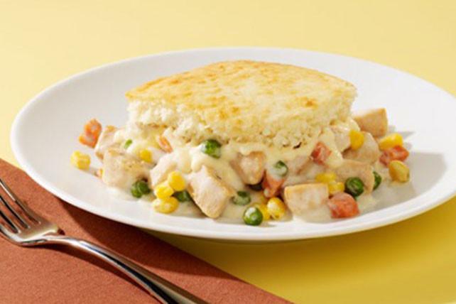 Chicken Pot Pie Casserole Recipe  VELVEETA Cheesy Chicken Pot Pie Casserole Kraft Recipes