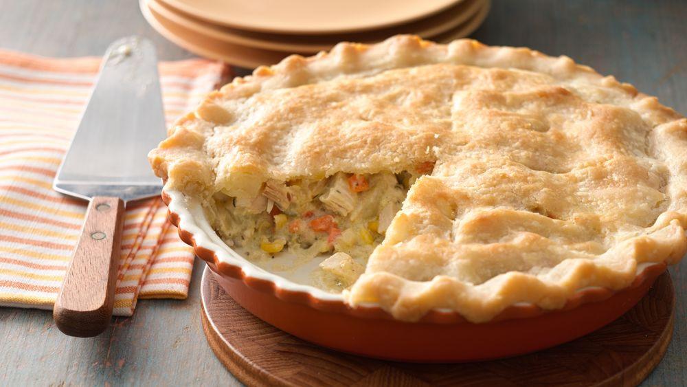 Chicken Pot Pie Pillsbury  Gluten Free Easy Chicken Pot Pie Recipe Pillsbury