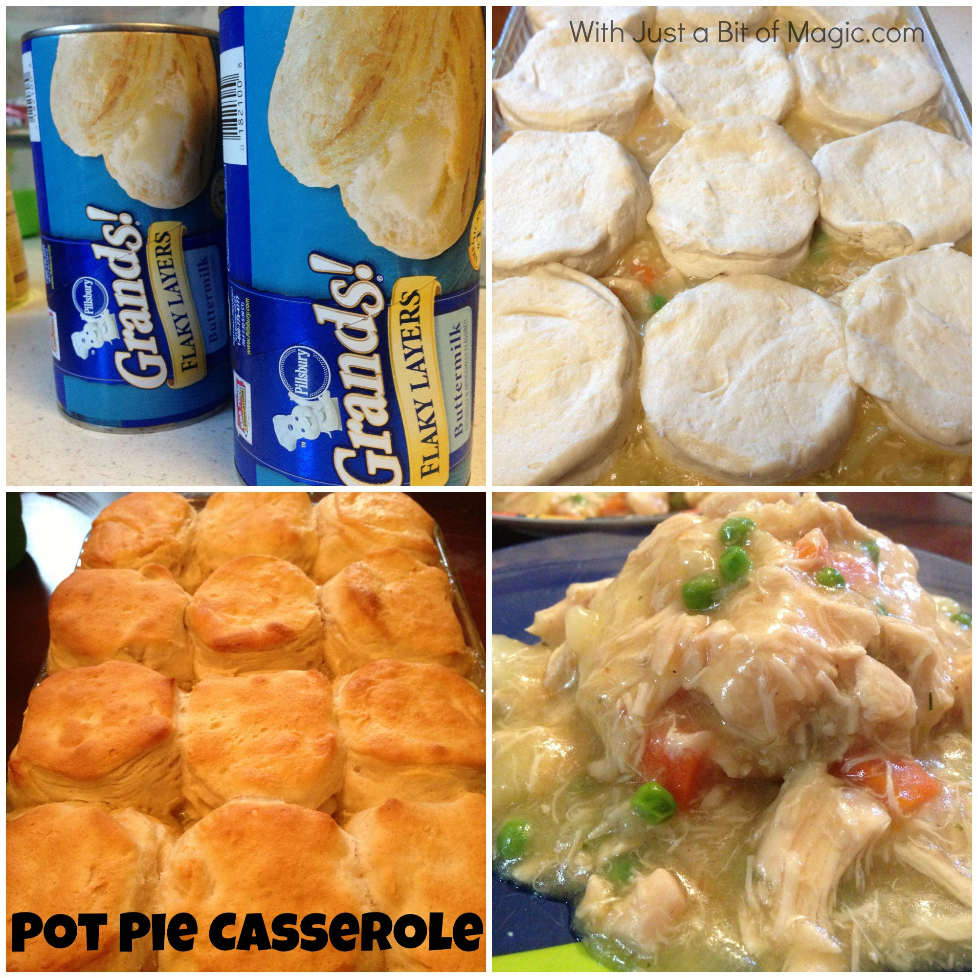 Chicken Pot Pie Pillsbury  Grands Biscuits Archives With Just a Bit of Magic