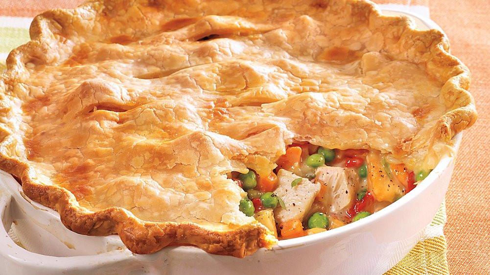 Chicken Pot Pie Pillsbury  Home Style Chicken Pot Pie recipe from Pillsbury