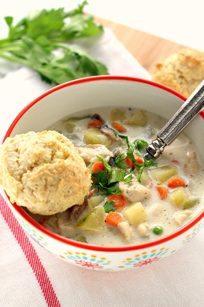Chicken Pot Pie Soup Recipe  Chicken Pot Pie Soup Recipe Crunchy Creamy Sweet