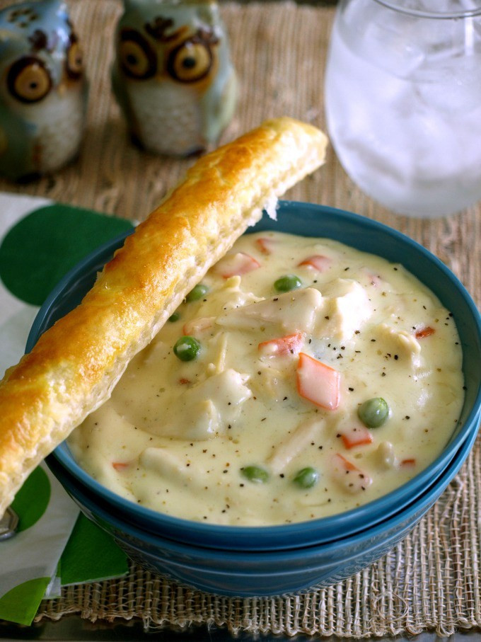 Chicken Pot Pie Soup Recipe  Warm Up With This Delicious Chicken Pot Pie Soup Made From