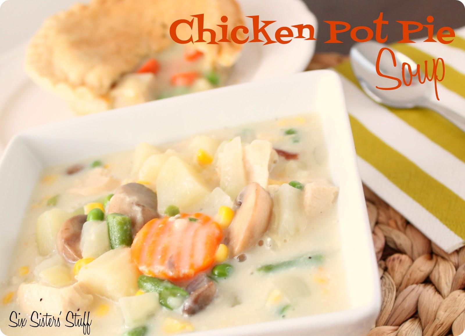Chicken Pot Pie Soup Recipe  Chicken Pot Pie Soup Recipe