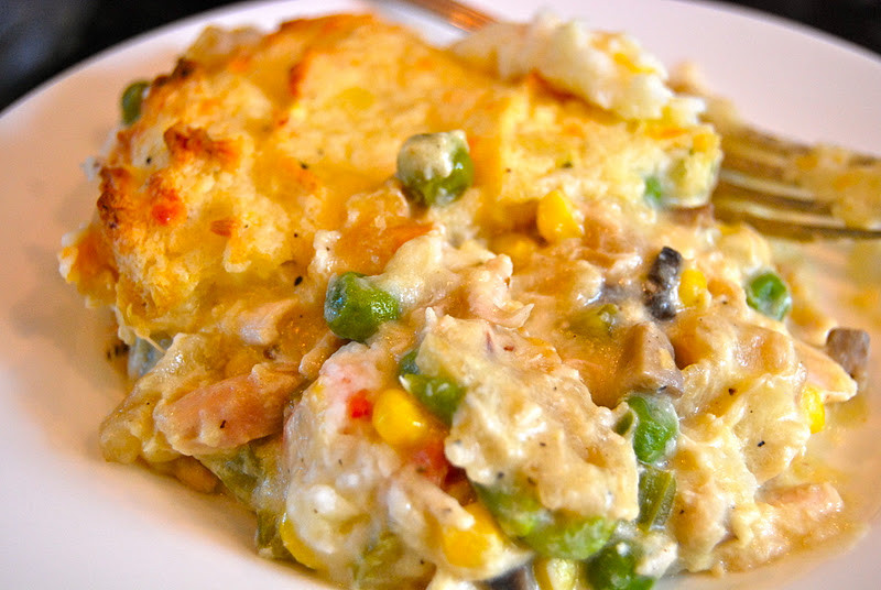 Chicken Pot Pie With Potatoes  Chicken Pot Pie with Mashed Potato Top