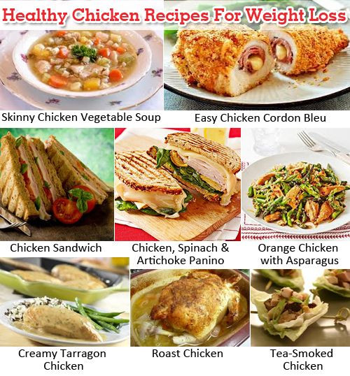 Chicken Recipes Weight Loss  Healthy Chicken Recipes For Weight Loss