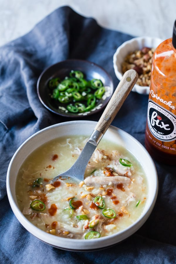Chicken Rice Soup Instant Pot  Instant Pot Asian Chicken and Rice Soup